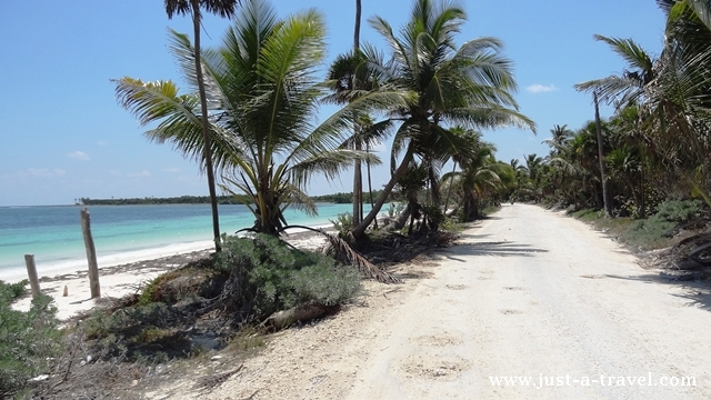 droga do Punta Allen