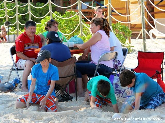 fiesta na plaży