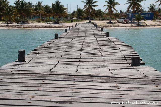 Molo w Punta Allen
