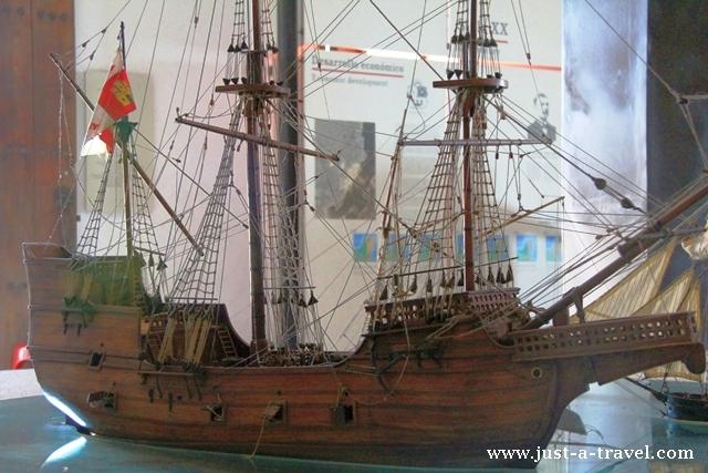 piracki statek w Bacalar