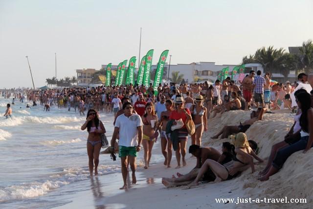semana santa na plaży