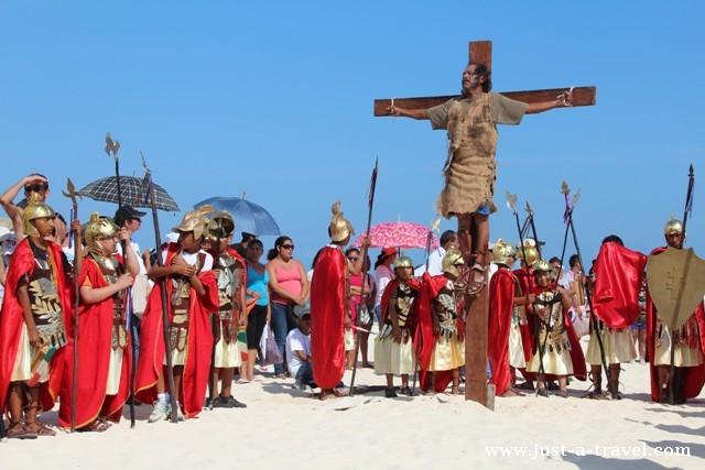 Titus na krzyżu