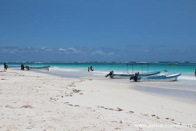 Playa Maya i lazurowe wybrzeże