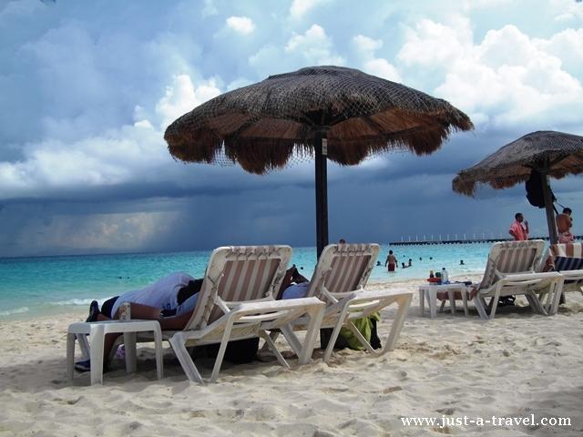 beach club w Playa del Carmen