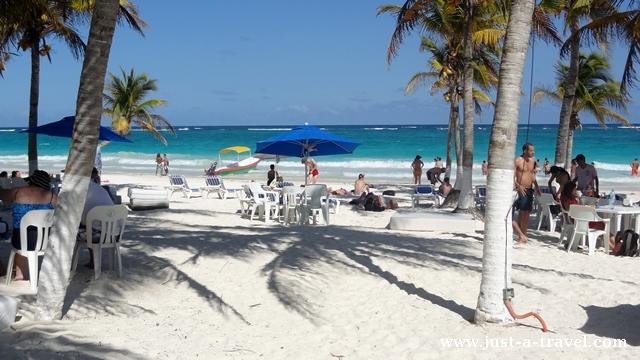 plaża Playa Maya