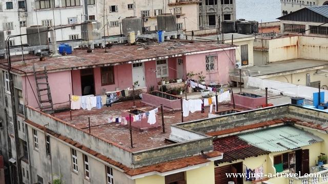 życie na dachu Hawany
