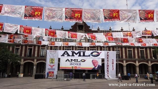 AMLO Andrés Manuel López Obrador kandydat na preyzdenta Meksyku