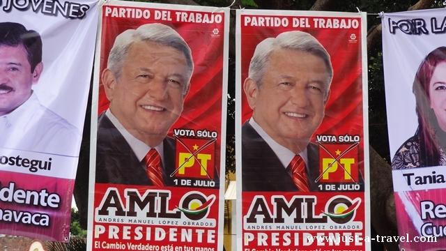 Andrés Manuel López Obrador kandydat na preyzdenta Meksyku