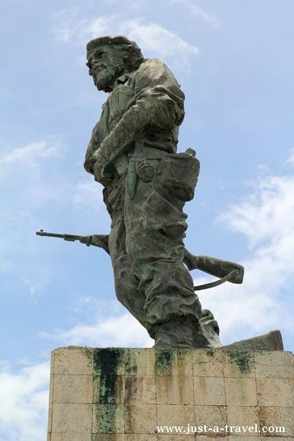 Che Guevara w Santa Clara