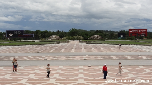 Plac przed Mauzoleum Che Guevara