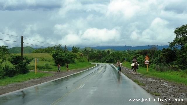 Droga z Santa Clara do Trinidad