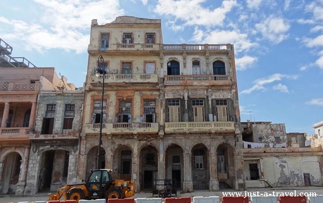 kolonialna kamienica w Hawanie