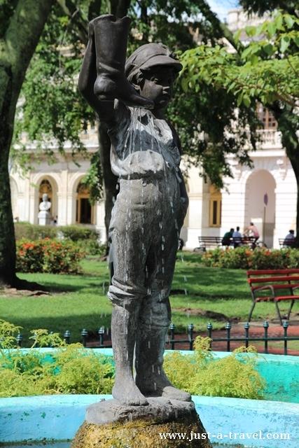 Parque Vidal w Santa Clara