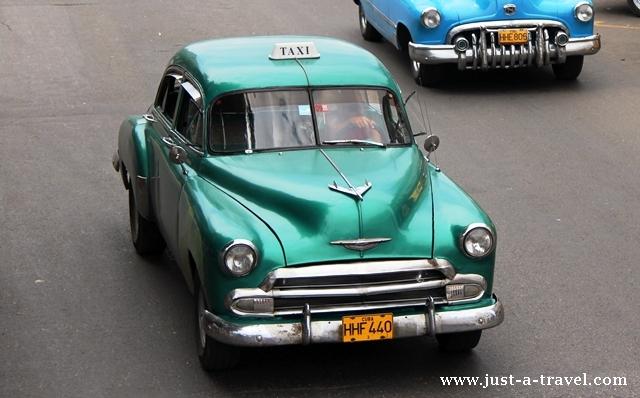 kubańskie taxi