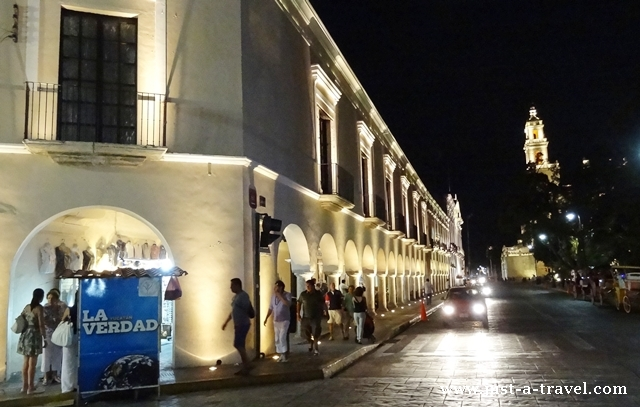 Arkady przy Plaza Grande Merida