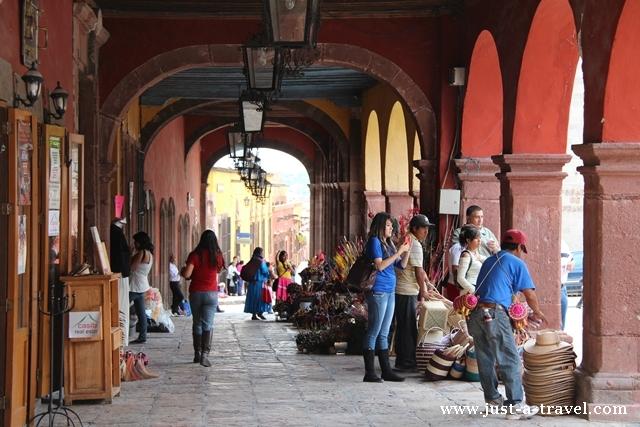 Arkady w San Miguel de Allende