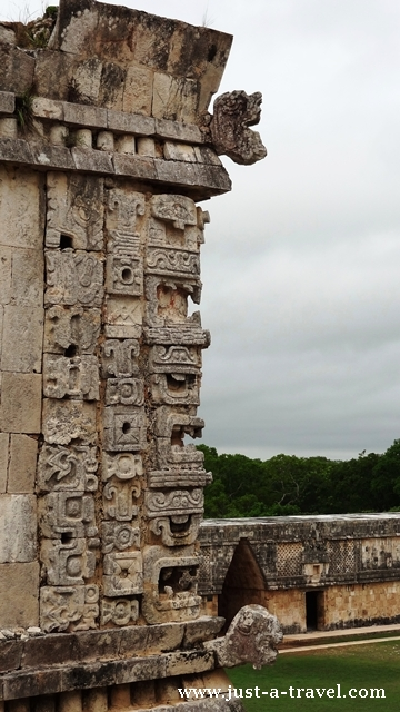 Motywy dekoracyjne stylu puuc w Uxmal