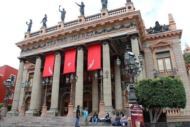 Teatro Juarez w Guanajuato
