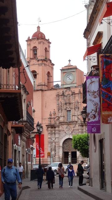 Templo de San Francisco Guanajuato