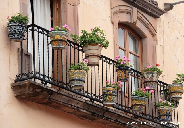 Balkony w San Miguel de Allende