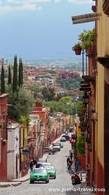 Uliczka w San Miguel de Allende
