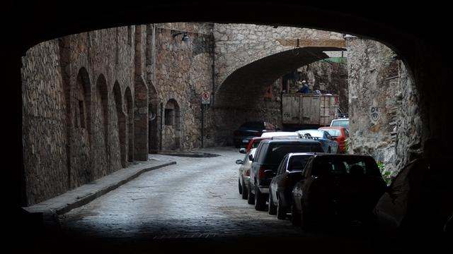 Tunel w Guanajuato