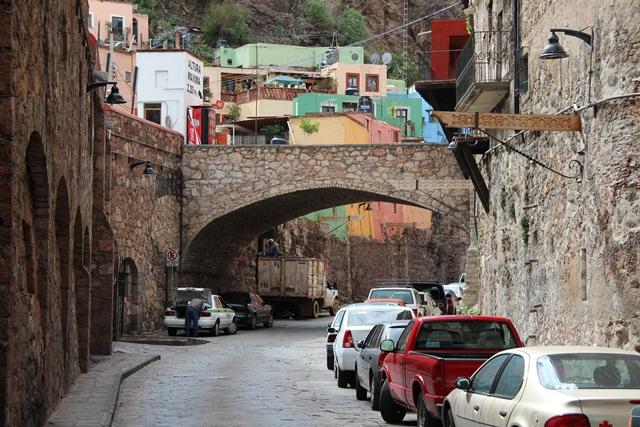 tunele w Guanajuato
