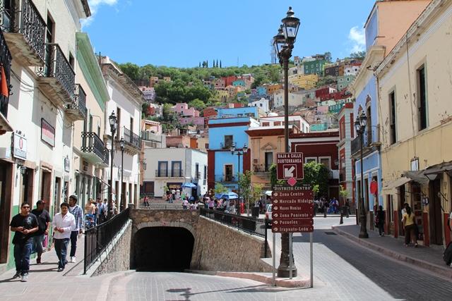 Kolonialne miasto Guanajuato