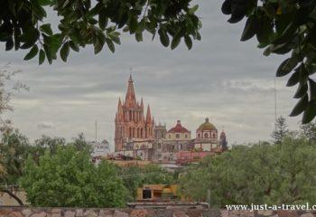 Widok na San Miguel de Allende