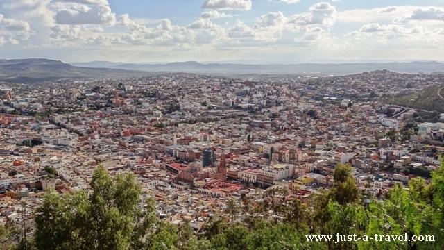 Zacatecas panorama