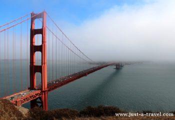 Podróż dookoła Kalifornii, Golden Gate Bridge