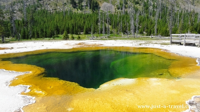 Black San Basin Yellowstone