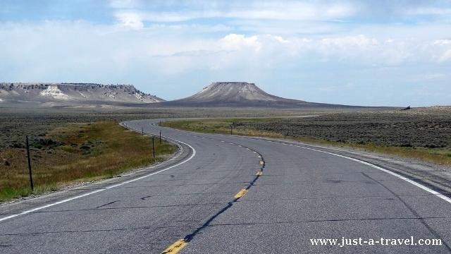 W drodze do Grand Teton i Yellowstone