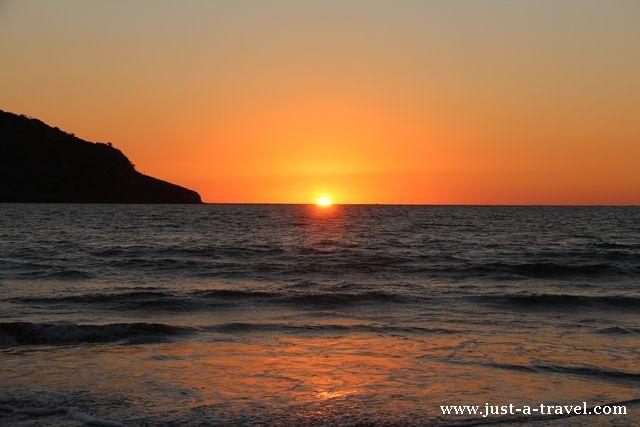 zachód słońca w Mazatlan