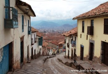 Uliczka w Cuzco