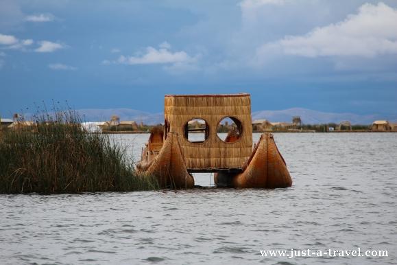 Wodne taxi z Uros