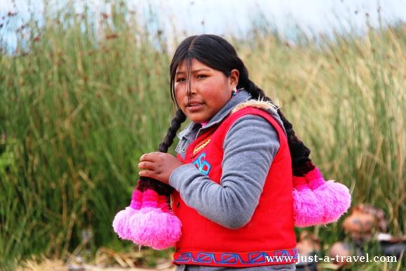 Indianka z Uros