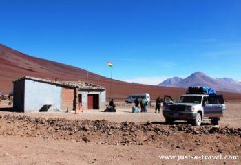 granica Boliwia Chile