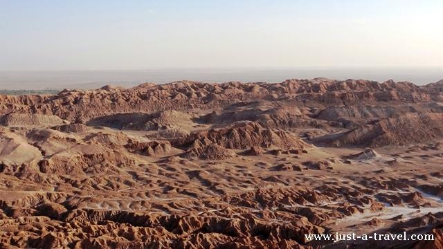 Panorama Valle de la Luna San Pedro de Atacama