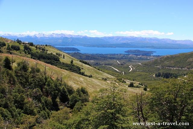 panorama Nahuel Huapi