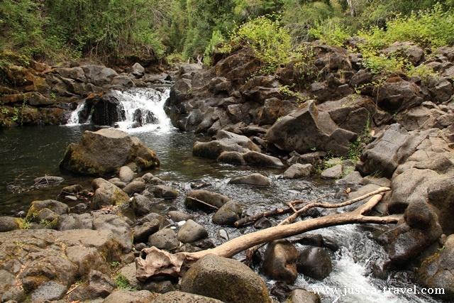 Rzeka Ojos del Caburgua