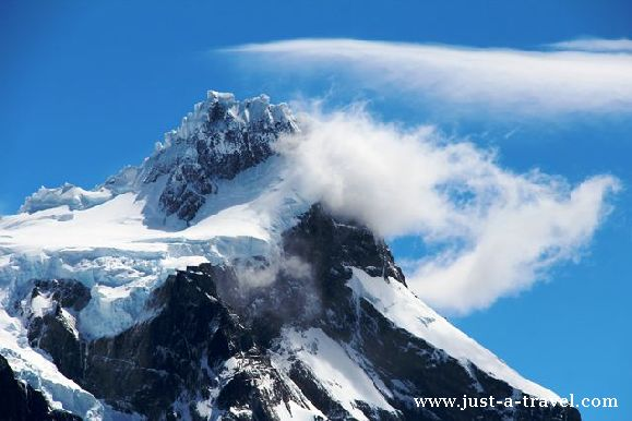 cumbre principal torres del Paine