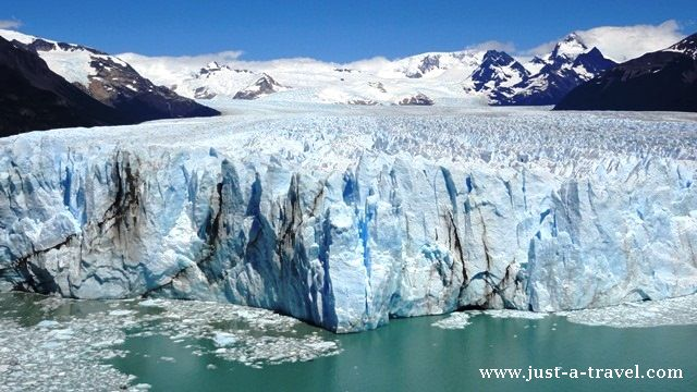 Czoło lodowca Perito Moreno