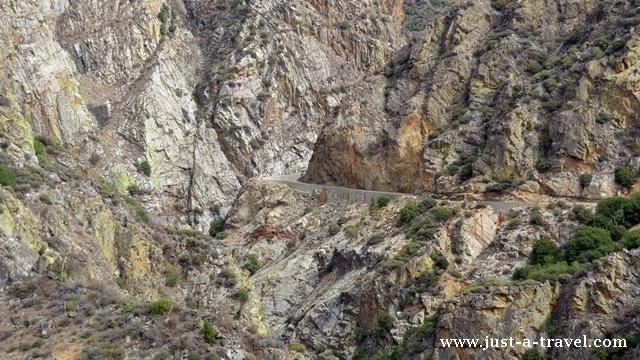 Droga przez kings canyon
