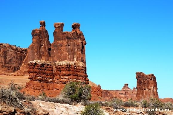 Plotkarki Park Narodowy Arches