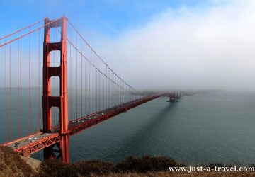 Podróż dookoła Kaliforni, Golden Gate Bridge San Francisco