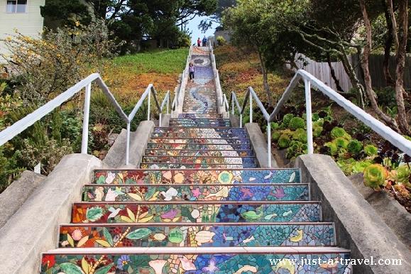 schody do nieba san francisco
