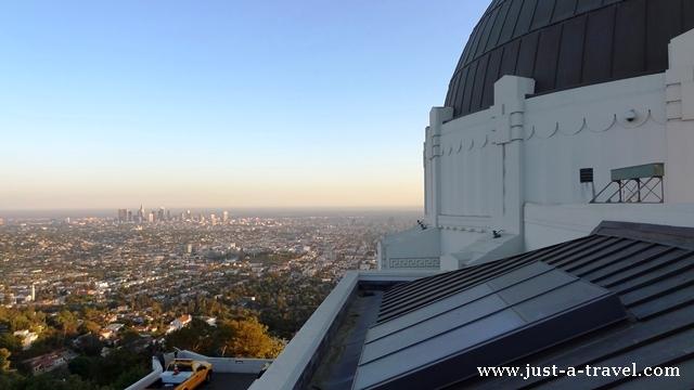 Los Angeles z obserwatorium Griffith