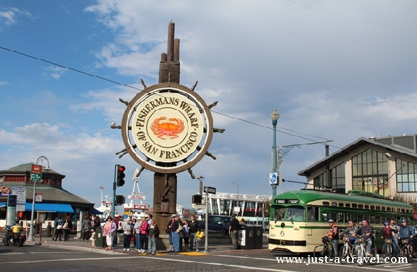 Fishermans Wharf w San Francisco