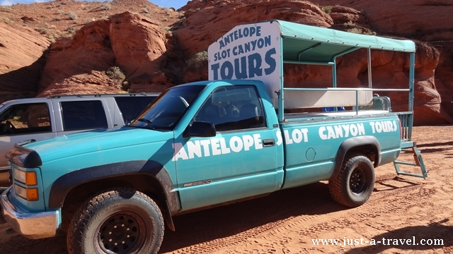 Antelope Slot Canyon Tours